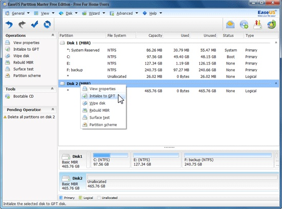 EaseUS Partition Master PRO 13.8  Full Version [Cracked]